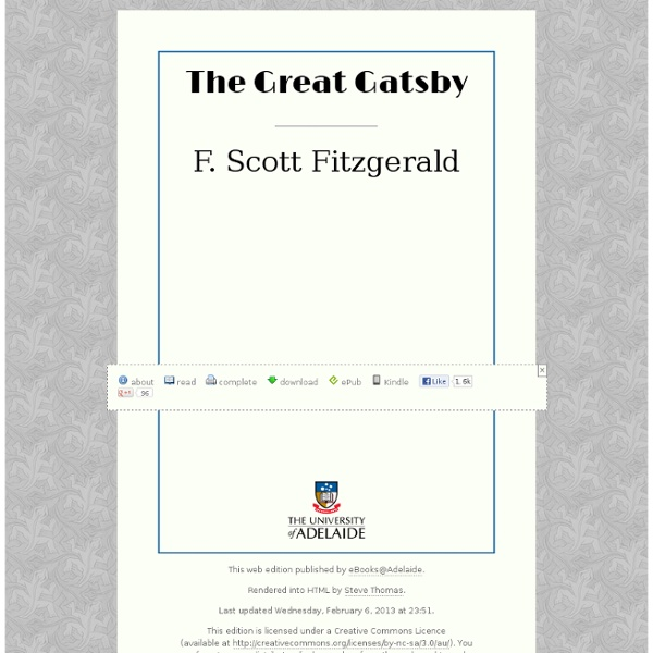 an analysis of jay gatsbys love in the great gatsby a novel by f scott fitzgerald Questions about relationships in the great gatsby is fitzgerald arguing that love itself is five years before the start of the novel, jay gatsby.