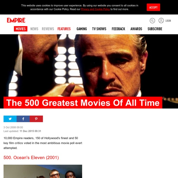 Empire's 500 Greatest Movies Of All Time