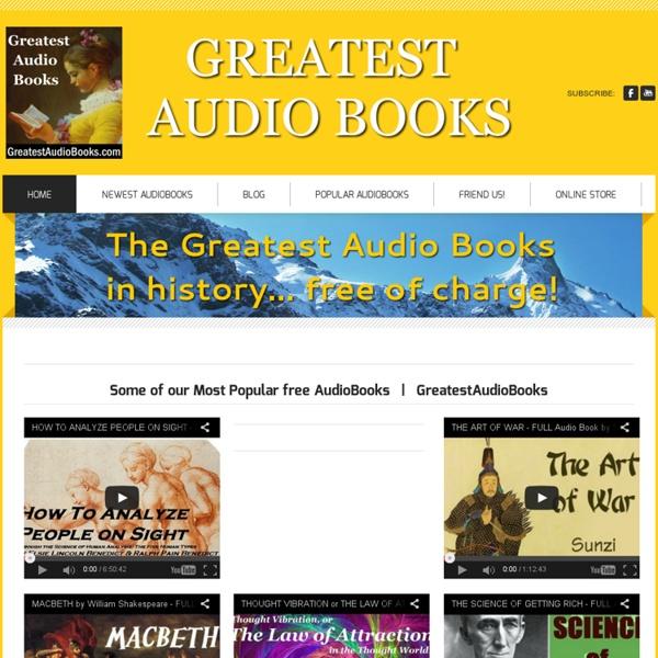 GreatestAudioBooks - Home