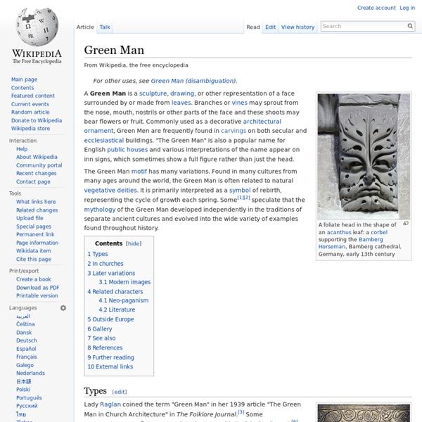Green Man - Wikipedia, la enciclopedia libre