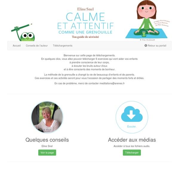 Calme et attentif comme une grenouille : Ton guide de sérénité