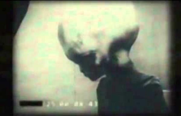 Grey Alien Filmed By KGB