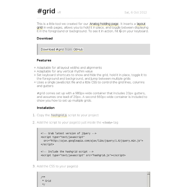 #grid—A layout grid in JavaScript and CSS for web design and typography