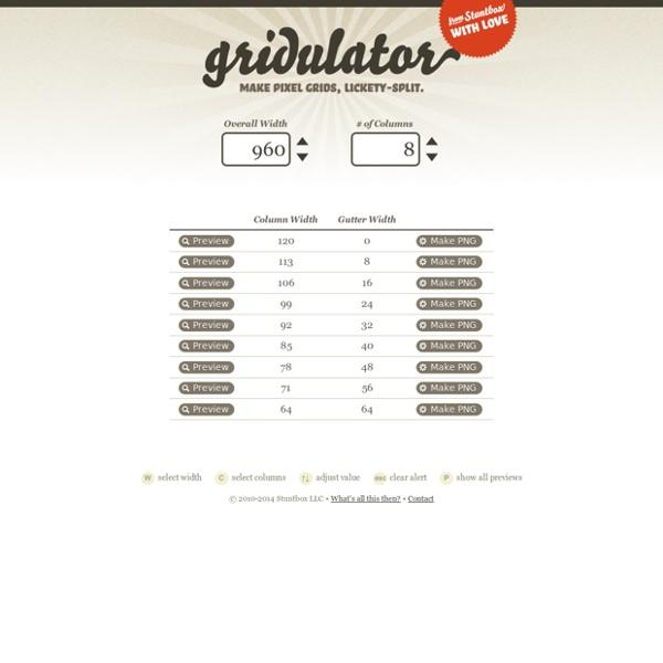 Gridulator: Make pixel grids, lickety-split