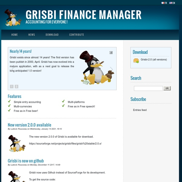 Grisbi finance manager