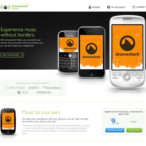 Grooveshark Mobile Music