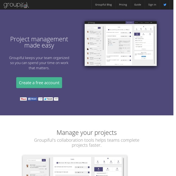Groupiful Project Management