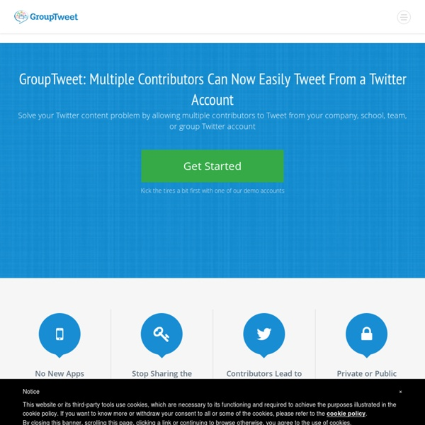 Group Twitter Accounts Made Easy