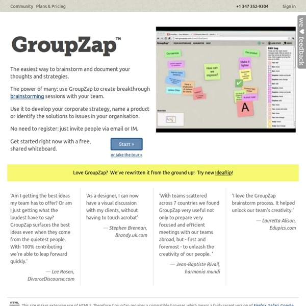 GroupZap — Welcome