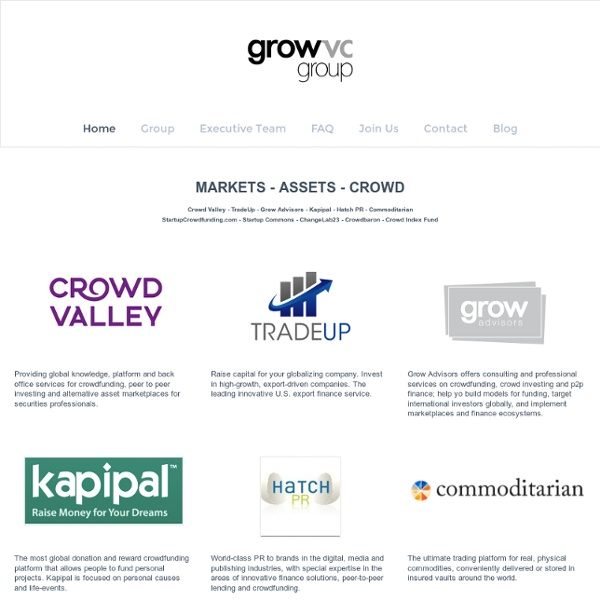 Welcome to Grow VC Group