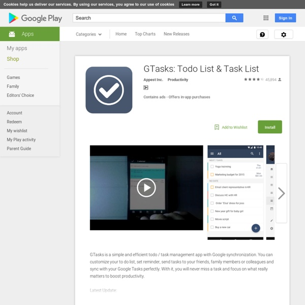 GTasks: To-Do List & Task List