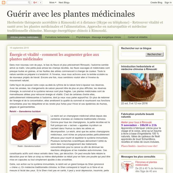 Guérir avec les plantes médicinales