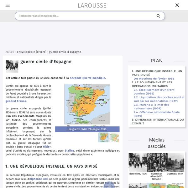 Guerre civile d'Espagne