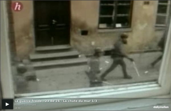 La guerre froide - 23 de 24 - La chute du mur 1/3 - vidéo dailymotion