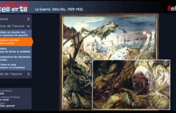 La guerre, Otto Dix, 1929-1932