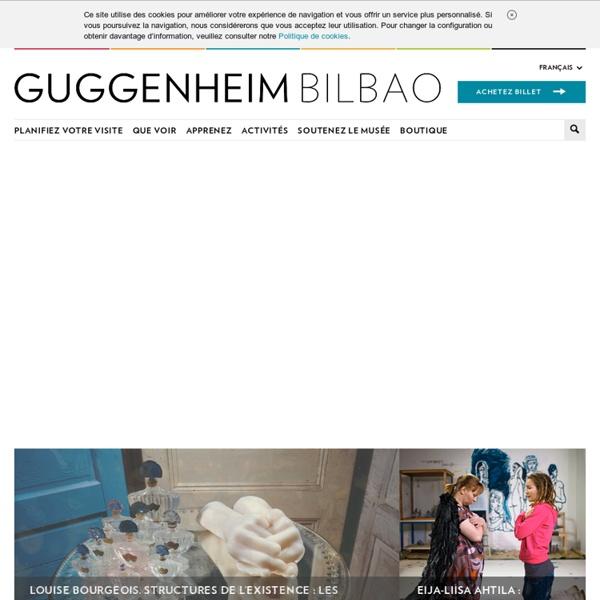 Musée Guggenheim Bilbao - Découvrez le Musée Guggenheim Bilbao et planifiez votre visite
