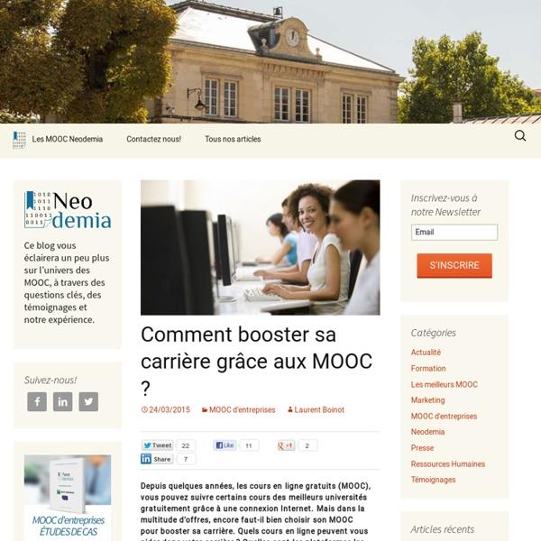 Le guide pour booster sa carrière grâce aux MOOC