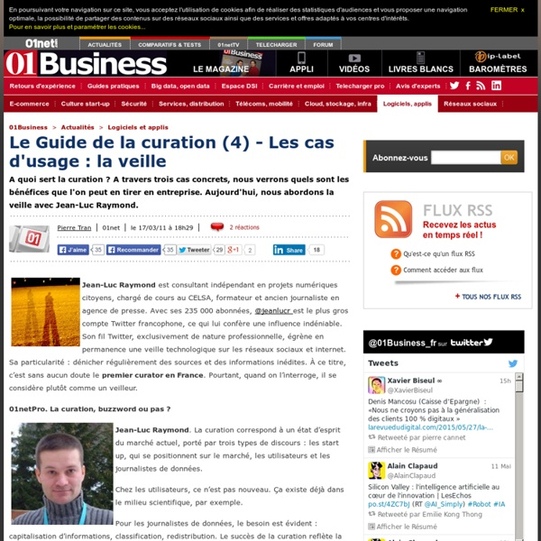 Guide Curation (4) - Usage : Veille