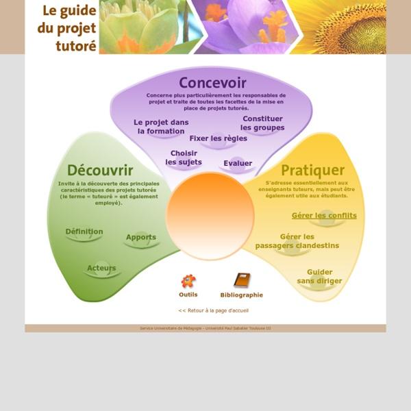 Guide du projet tutoré -Sommaire du Guide