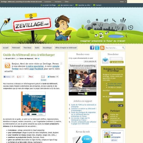 Guide du télétravail 2011 à télécharger
