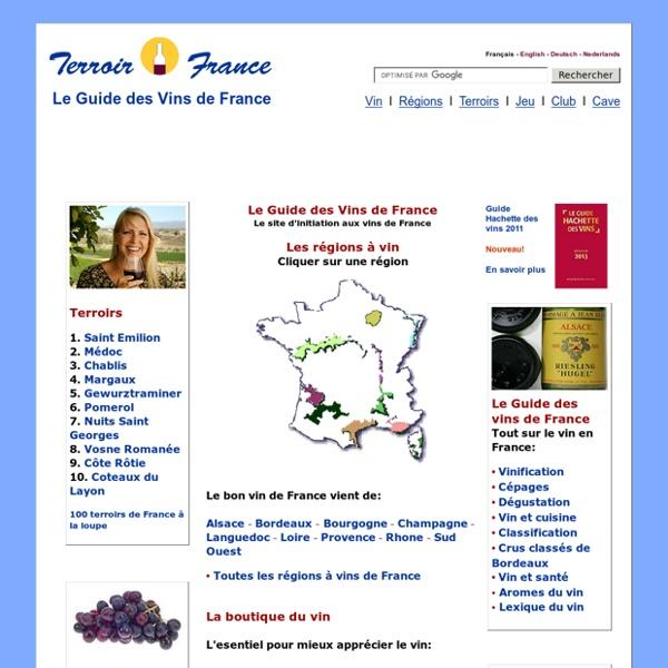 Guide des Vins de France