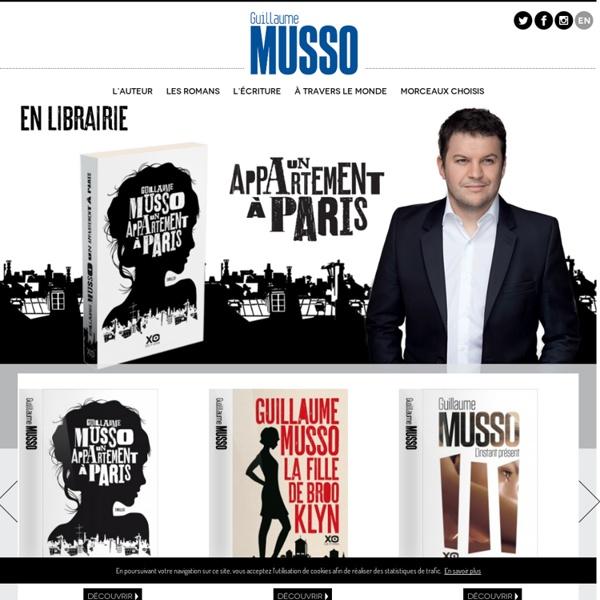 Guillaume Musso : le site officiel