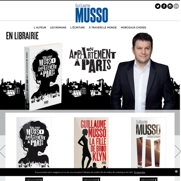Guillaume Musso - Accueil