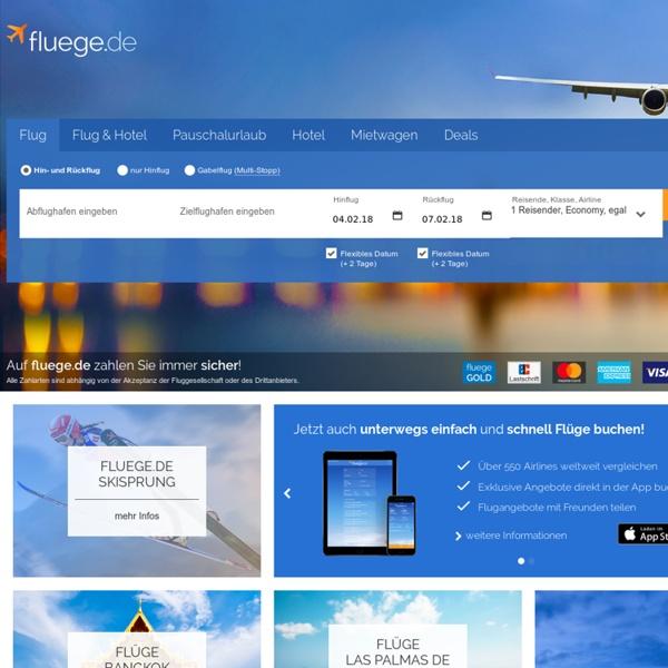 Günstige Flüge online buchen – Flug-Angebote vergleichen