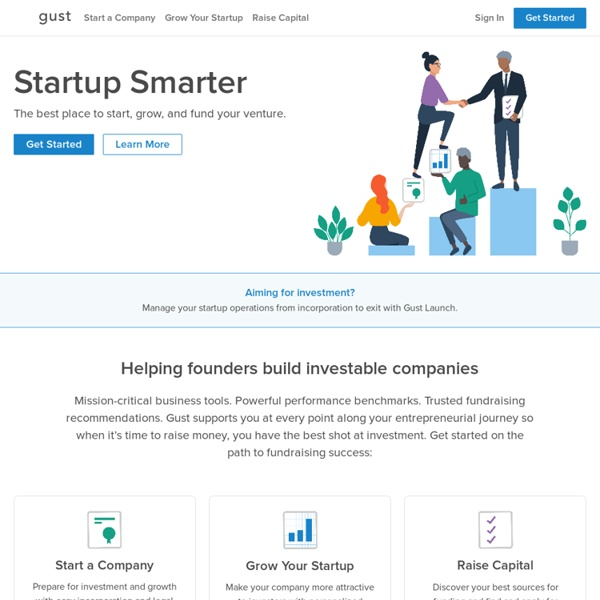 Startup Funding & Investing