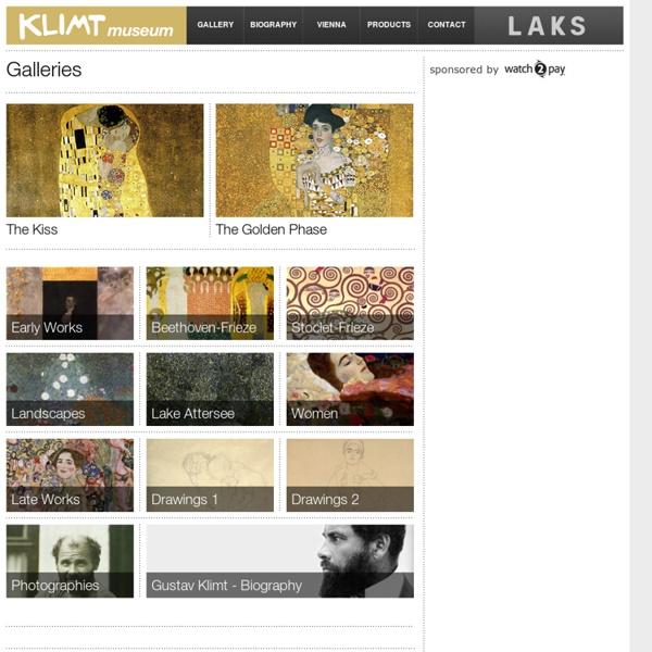 Gustav Klimt Museum - Gustav Klimt Paintings, Gustav Klimt Drawings