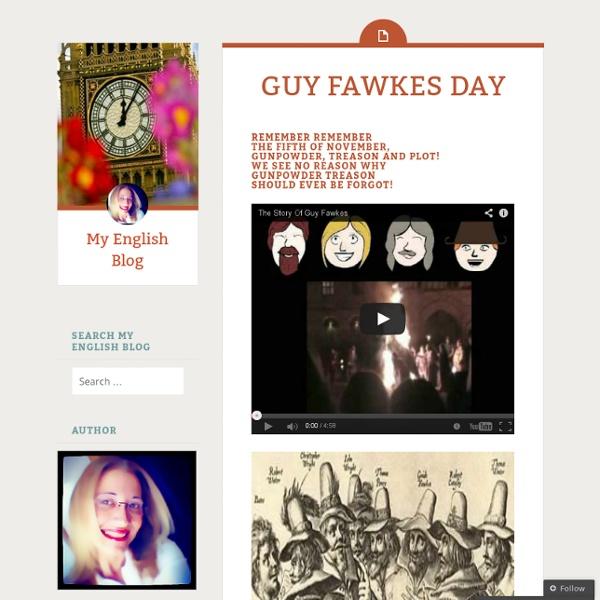 My English Blog