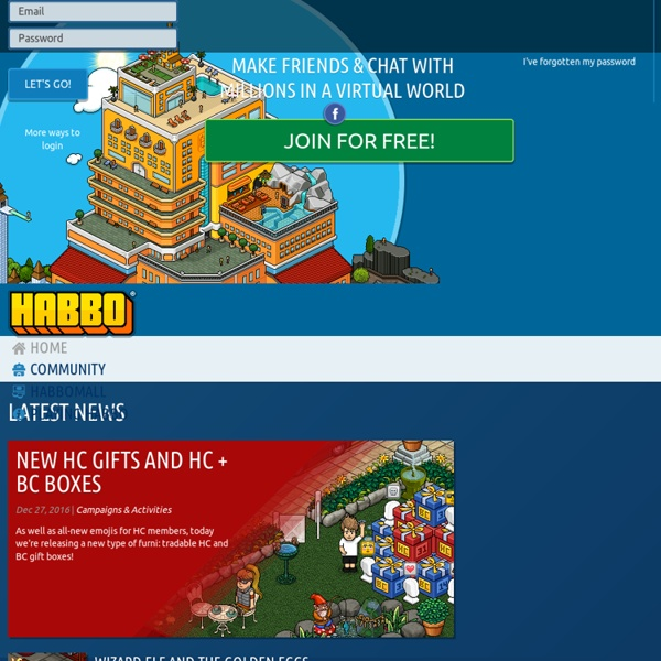 Habbo Hotel - Make friends, join the fun, get noticed!