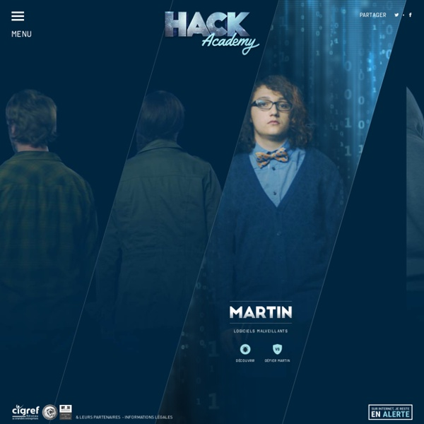 Hack Academy / jeu documentaire sur le piratage