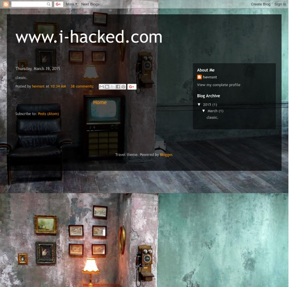 I-Hacked.com Taking Advantage Of Technology