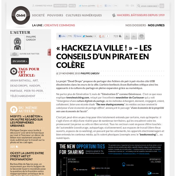 « Hackez la ville ! » – Les conseils d'un pirate en colère