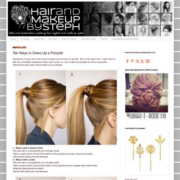 Ten-ways-to-dress-up-ponytail
