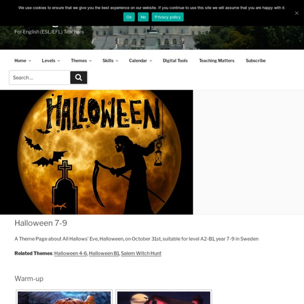Halloween 7-9 – WebEnglish.se