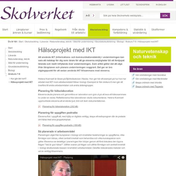 Hälsoprojekt med IKT