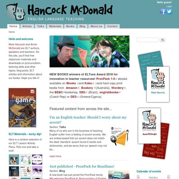 Hancock McDonald ELT