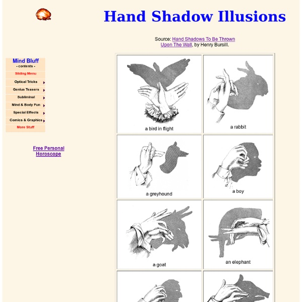 Hand Shadow Illusions