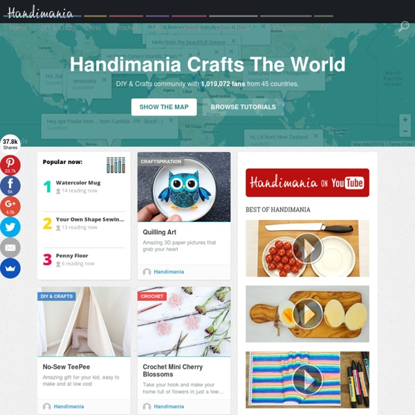 Handimania - Guides for Handmade, DIY & Crafts Maniacs