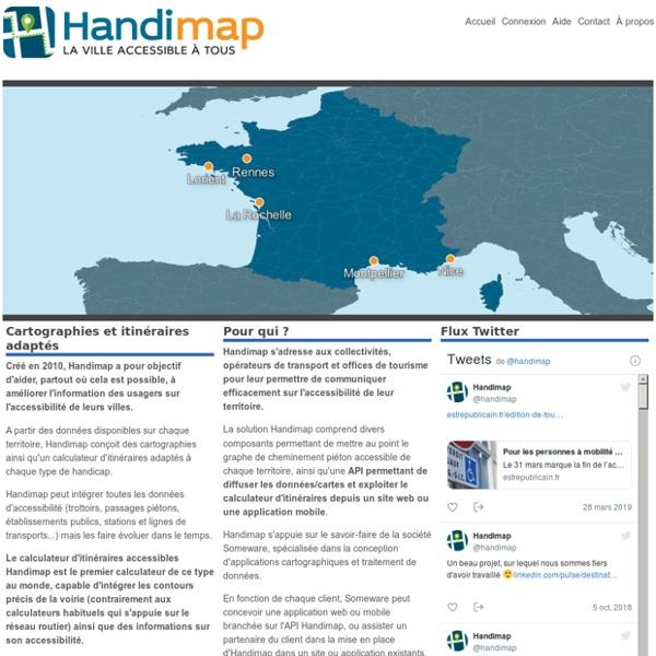 Handimap.org - La ville accessible à tous