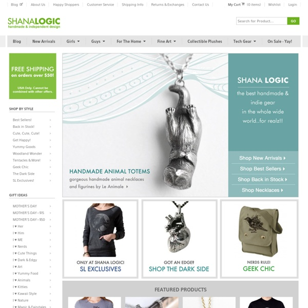 Vintage Goods Home page