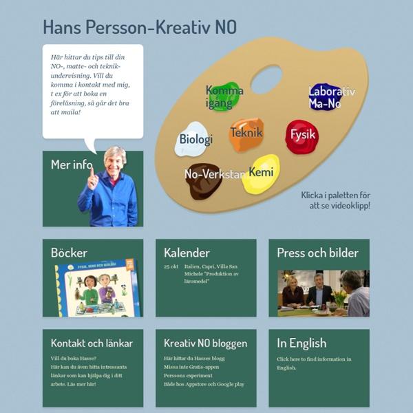 Konkret och kreativ NO, Hans Persson