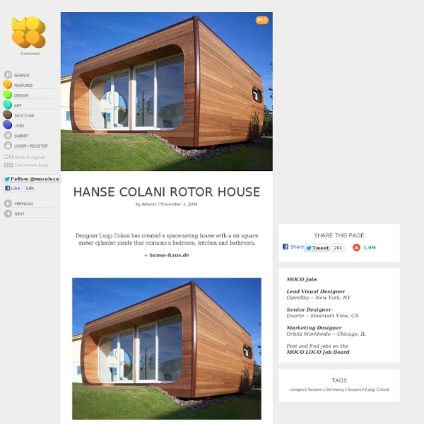 Hanse Colani Rotor House