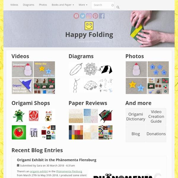 Enjoy origami online