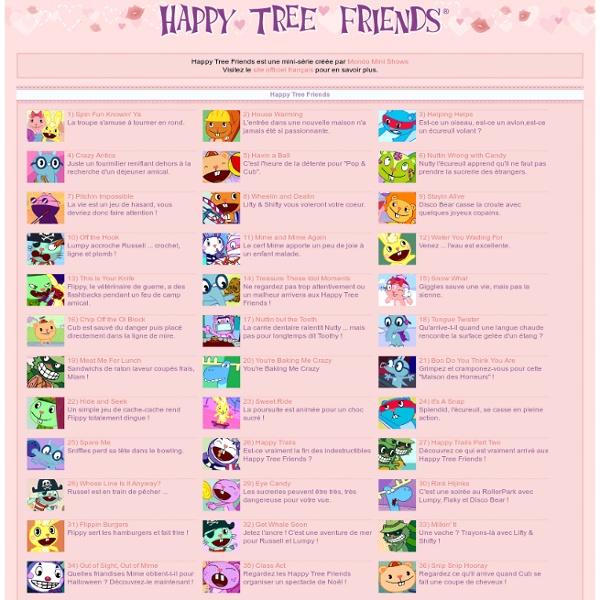 Tous les épisodes d'Happy Tree Friends