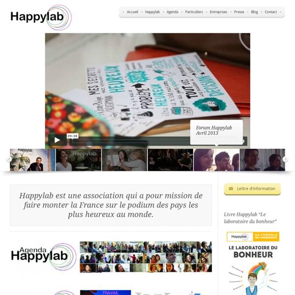 Happylab - Le laboratoire du bonheur