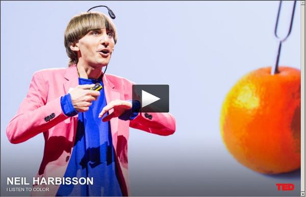 Neil Harbisson: I listen to color