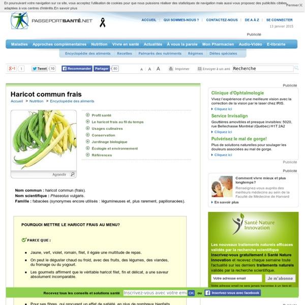 Les haricots verts pour faire le plein de vitamines et minéraux essentiels